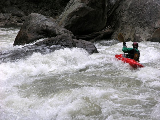 Whitewater paddling on the Upper Youghiogheny River