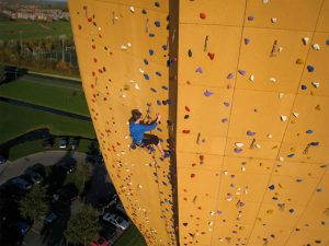 Netherlands Boasts the World's Largest Climbing Wall
