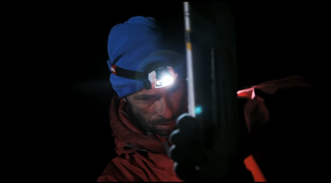 Petzl Nao Headlamp automatically adjusts beam strength and spread