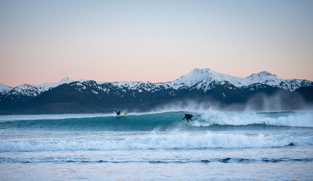 Surfing a 5-Mile Wave in Alaska