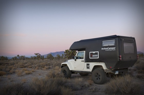 Action Camper Turns a Jeep Wrangler Into a Home